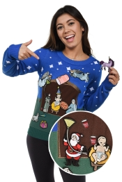 womens-custom-party-nativity-scene-sweater